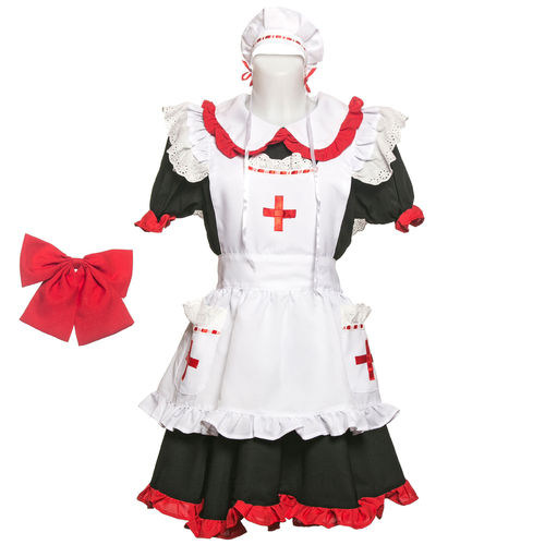 Cosplay Krankenschwester Kostüm Nurse-Dress Girls